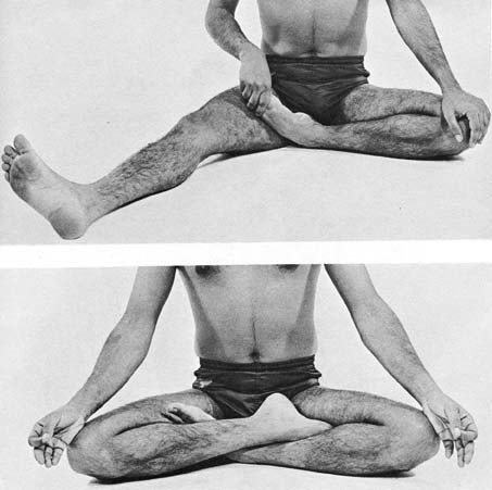 how to perform meditative poses  heal nature's way